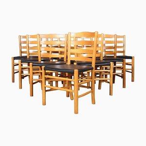 Chaises d'Eglise par Kaare Klint pour Fritz Hansen, 1960s