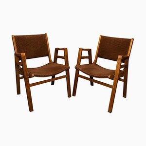 Mid-Century Chairs by Frantisek Jirak, Czechoslovakia, 1960s, Set of 2