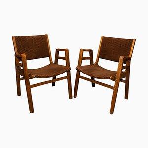 Mid-Century Stühle von Frantisek Jirak, Tschechoslowakei, 1960er, 2er Set