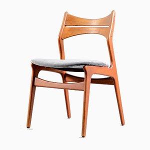 Mid-Century Danish Teak Dining Chairs by Erik Buch, 1960s, Set of 4