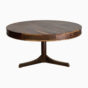 Rosewood Drum Table by Robert Heritage for Archie Shine, 1950s