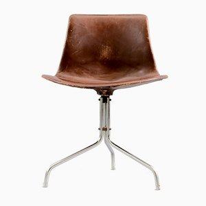 Vintage Swivel Desk Chair by Preben Fabricius & Jørgen Kastholm for Boex