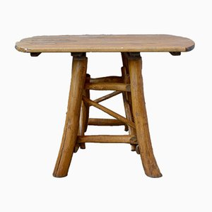 Vintage Brutalist Farm Table