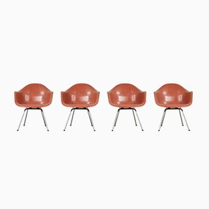 Vintage Armchairs by Charles & Ray Eames for Herman Miller, 1970s, Set of 4