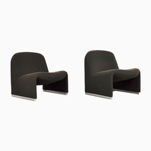 Vintage Alky Chairs by Giancarlo Piretti for Castelli / Anonima Castelli, 1970s, Set of 2