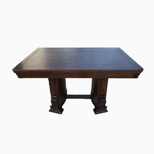 Folding Dining Table, 1920s