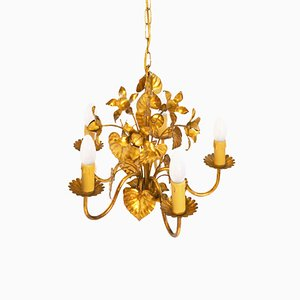 Mid-Century Hollywood Regency Chandelier by Hans Kögl