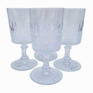 Antique Crystal Glasses from Baccarat, 1920s, Set of 4