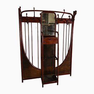 Art Nouveau Curved Wooden Rack by Michael Thonet for Thonet, 1900s