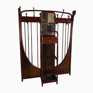 Portaoggetti Art Nouveau in legno curvato di Michael Thonet per Thonet, inizio XX secolo