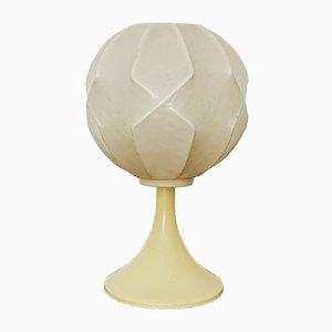 Lámpara de mesa Cocoon italiana, años 50