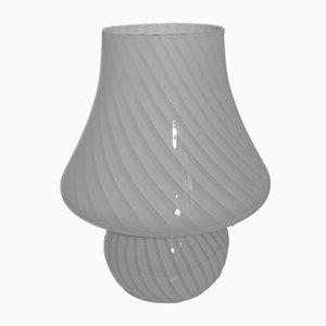 Lámpara de mesa italiana Mid-Century de cristal de Murano de Paolo Venini para Venini, años 70