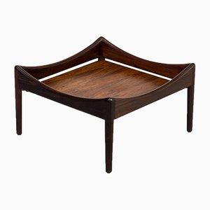 Tavolino Modus in palissandro di Kristian Vedel per Søren Willadsen Møbelfabrik, anni '60