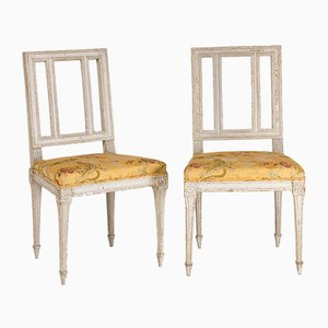 Louis XVI Club Chairs, Set of 2