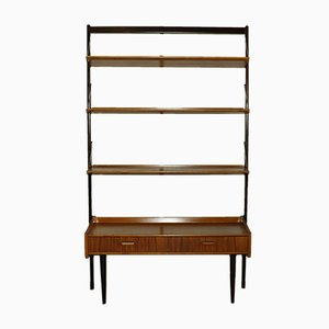 Mid-Century Teak Bookcase, Norway, 1960s