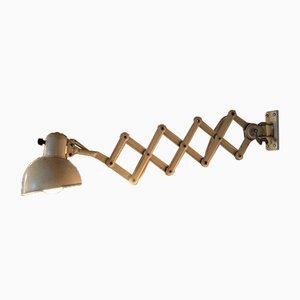 Beige Scissor Lamp from Kaiser Idell, 1920s