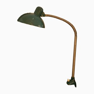 Green Gooseneck Lamp from Kaiser Idell, 1920s