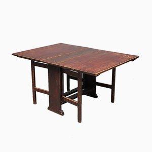 Swedish Folding Table, 1880s
