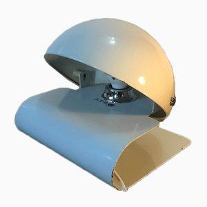 Metall Tischlampe von Guzzini, 1970er