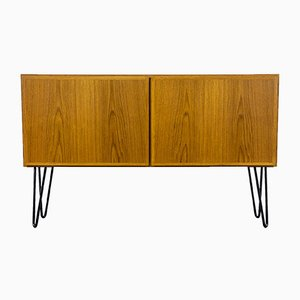 Small Teak Sideboard from Omann Jun, 1960s