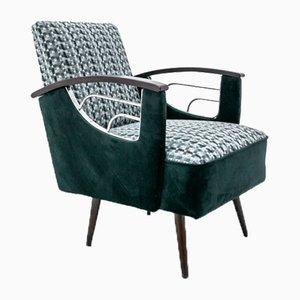 Mid-Century Green Armchair, 1970s