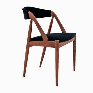 Sedie da pranzo modello 31 di Kai Kristiansen, Danimarca, anni '60, set di 4
