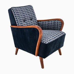 Mid-Century Blue Armchair, 1970s