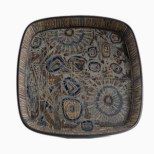 Scandinavian Ceramic Sunflower Bowl by Nils Thorson for Royal Copenhagen, 1960s