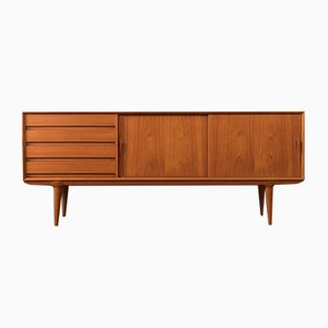 Teak Veneer Sideboard from Omann Jun, 1960s