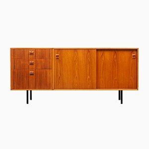 Teak Sideboard with Metal Legs, 1960s