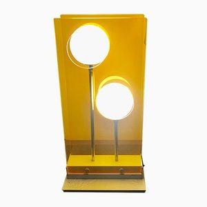 Lámpara de mesa italiana de Stilnovo, años 80