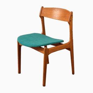 Dining Chairs by Erik Buch for Oddense Maskinsnedkeri / O.D. Møbler, 1950s, Set of 4