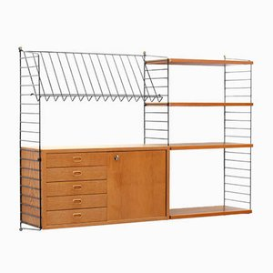 "Modular Shelving System by Strinning, Kajsa & Nils ""Nisse"" for String, 1950s"