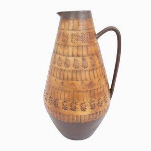 Vaso da terra grande in ceramica nello stile di Roger Capron, Francia, anni '50