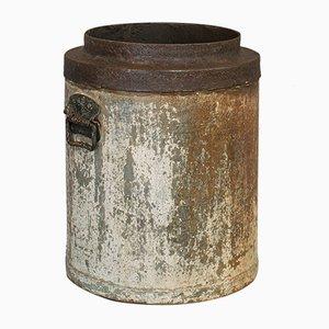 Antique Victorian Industrial English Fireside Bucket