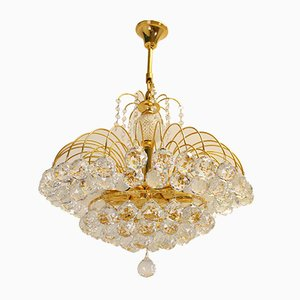 Crystal Ceiling Lamp from Christoph Palmer, 1960s