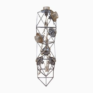 Italian Poliedra Modular Floor Lamp by Felice Ragazzo for Guzzini, 1970s