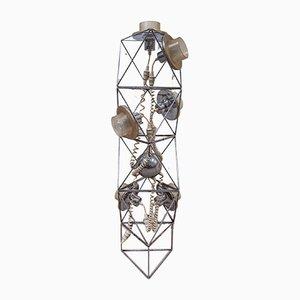 Lampada da terra Poliedra modulare di Felice Ragazzo per Guzzini, Italia, anni '70