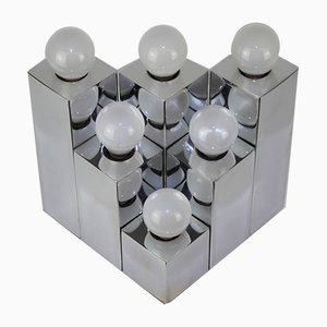 Cubist Wall Lights by Gaetano Sciolari for Sciolari, 1960s, Set of 2