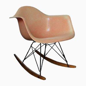 Sedia a dondolo RARS Edge di Charles & Ray Eames per Zenith Plastics, anni '50