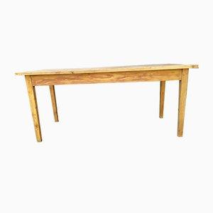 Mesa de granja de madera de pino