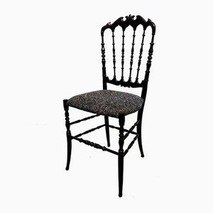 Chaises de Salon Mid-Century Chiavari Parigina de Levaggi, Set de 4