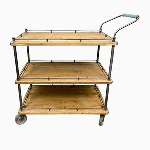 Industrial Serving Cart, 1960s