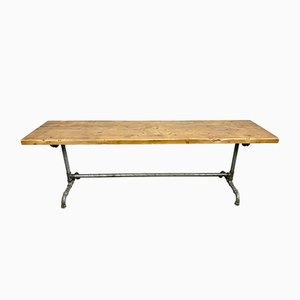 Industrial Dining Table, 1960s