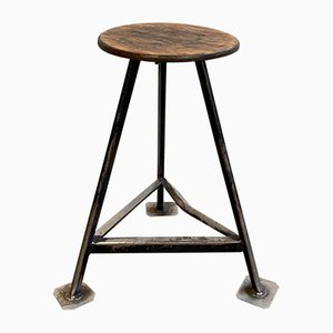 Industrial Factory Stool, 1960s