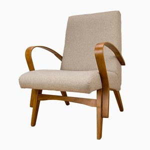 Czech Armchairs, 1960s, Set of 2