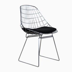 Mid-Century Modell SM05 Wire Chairs von Cees Braakman & Adriaan Dekker für Pastoe, 1950er, 6er Set