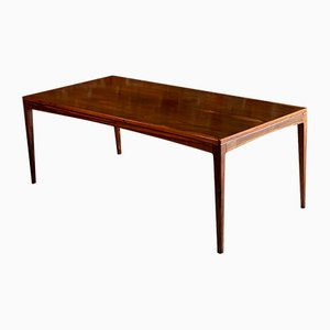Mid-Century Norwegian Rosewood Coffee Table by Torbjørn Afdal for Bruksbo, 1960s