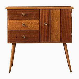 Oak Veneer Chest of Drawers, 1950s