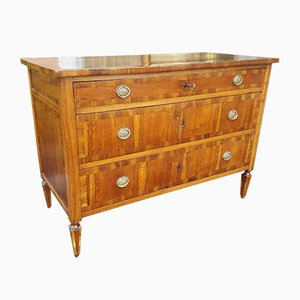 18th Century Italian Louis XVI Walnut Chest of Drawers